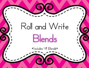 Roll and Write Blends