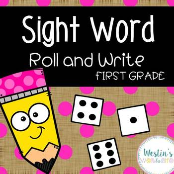 Roll and Write Sight Words - Grade 1!