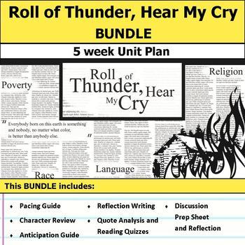 Roll of Thunder, Hear My Cry Unit Bundle