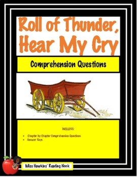 Roll of Thunder, Hear My Cry Comprehension Questions