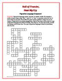 Roll of Thunder, Hear My Cry: Figurative Language Crossword—-Fun!
