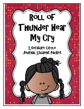 Roll of Thunder Hear My Cry Literature Circle Journal Stud