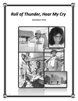 Roll of Thunder Hear My Cry Literature Unit