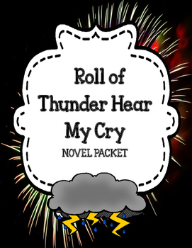 Roll of Thunder Hear My Cry - Novel Unit Comprehension and