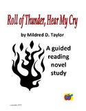 Roll of Thunder, Hear My Cry guided reading novel study