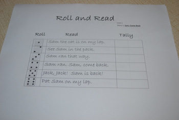 Roll to Read, Unit 1, Scott Foresman Reading Series, 1st Grade