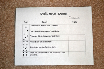 Roll to Read, Unit 2, Scott Foresman Grade 1 Reading Series