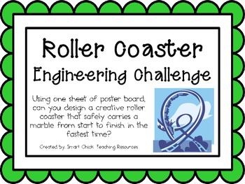 Roller Coaster: Engineering Challenge Project ~ Great STEM