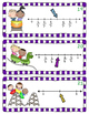 Fractions on a Number Line Game, Worksheets, Craftivity