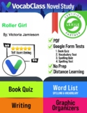 Roller Girl Book Novel Study Guide PDF | READING QUIZ | VO