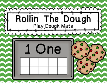 Rollin The Dough Playdough Mats