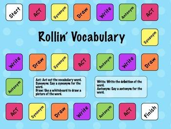 Rollin' Vocabulary