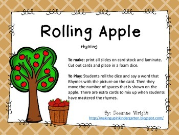 Rolling Apples