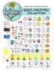 Cute Animal Clip Art Collection: 17 animals and all the ac