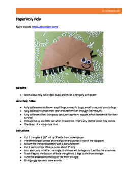 Roly Poly Craft