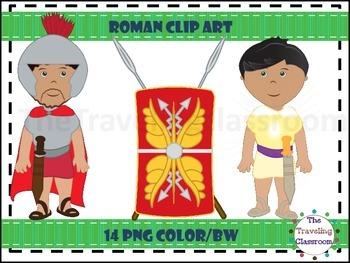 Roman Clip Art