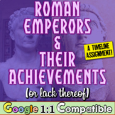 Roman Emperors and Their Achievements (or lack thereof) -
