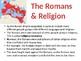 Roman Empire Lesson 4: Rome & Religion