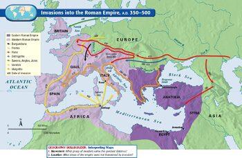 Roman Empire Mapping Activity