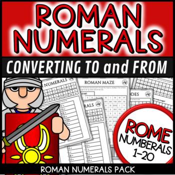 Roman Numerals Grade 2,3,4