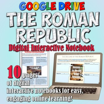 Roman Republic Google Drive Interactive Notebook