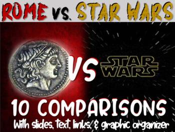 Roman Republic/Empire vs STAR WARS: 10 similarities w/ lin