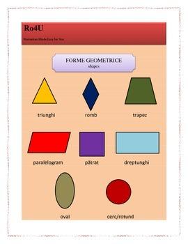 Romanian geometric shapes
