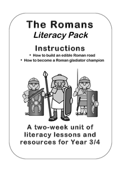 Romans Literacy Planning Pack - Instructions Unit Y3/4 (2n