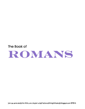Romans WORD Guide