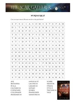 Romans Word search and Crossword