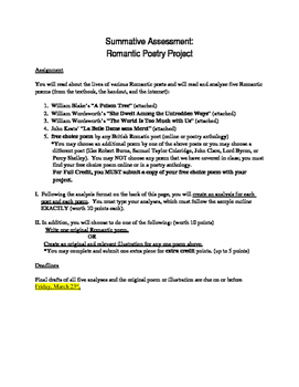 Romantic Poetry Project