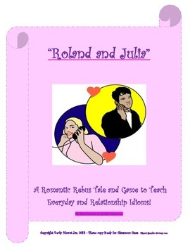 Romantic Rebus Tale and Card Game to Teach 50+ Relationshi