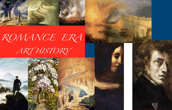Romanticism ~ Art History ~ Romance Era ~ FREE POSTER