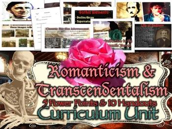Romanticism & Transcendentalism Curriculum Unit