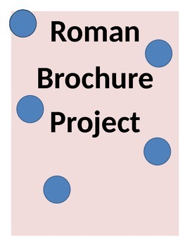 Rome Brochure Project