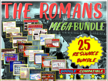 Rome Mega-Bundle - 25 resources to teach an engaging unit