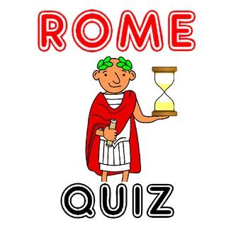 Rome Quiz: Fun Prezi Rome Quiz for upper elementary/middle