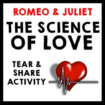 """Romeo and Juliet - """"The Science of Love"""" Informational Tex"""