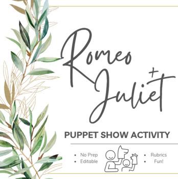 Romeo & Juliet Puppet Show Activity