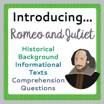 Romeo and Juliet Introduction