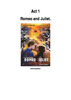 Romeo and Juliet Act 1Workbook