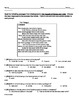 Romeo and Juliet Common Core Test Bank 100 Questions