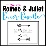 Romeo and Juliet Decoration Bundle