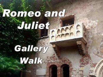 Romeo and Juliet Gallery Walk: Writing and Image Analysis