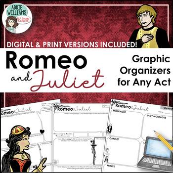 Romeo and Juliet Graphic Organizers