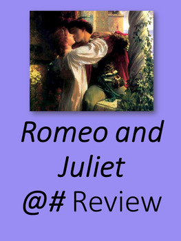 Romeo and Juliet Hashtag Review
