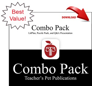Romeo and Juliet LitPlan Combo Pack Lesson Plans