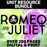 Romeo and Juliet Literature Guide: Common Core Aligned Tea