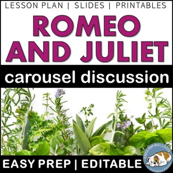 Romeo and Juliet Pre-reading Carousel Discussion