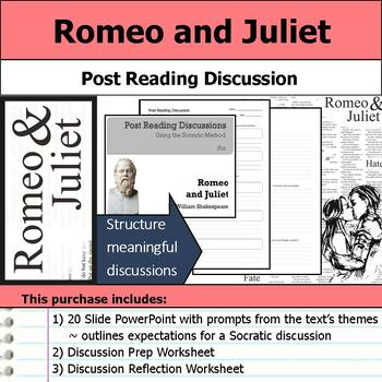 Romeo and Juliet - Socratic Method - Post Reading Discussions